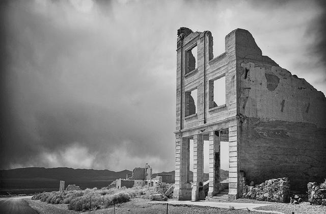 Rhyolite, NV - Ghost town
